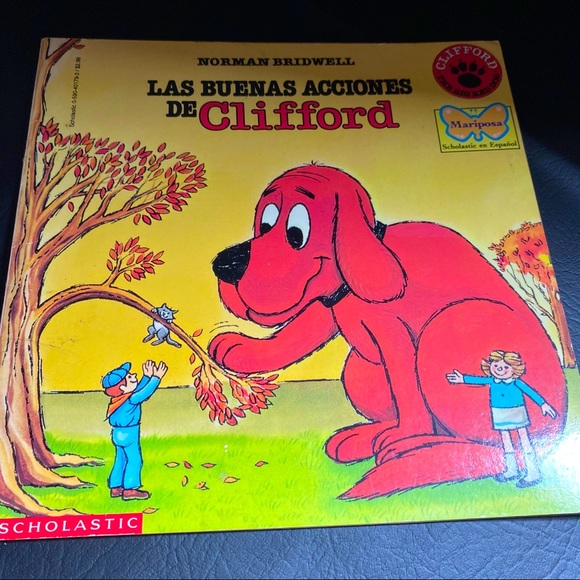 Clifford the Big Red Dog Book in Spanish